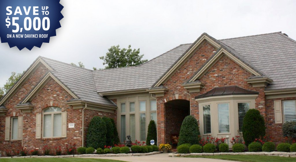 The least expensive davinci roof ever weatherguard inc for Most expensive roof material