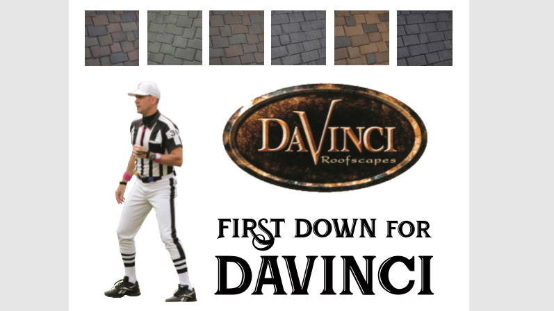 first down for davinci