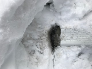 downspout ice