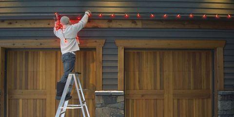 removing lights